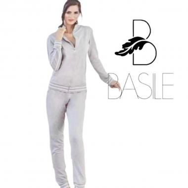 Tuta donna full zip basile ft757