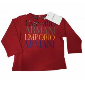 Lenzuola Matrimoniali Armani.Emporio Armani T Shirt Ml Baby Armani 6ghd01 4j09z Br 1134143