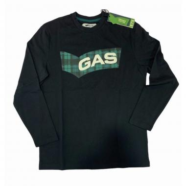 T-shirt ml uomo gas 300225 184451
