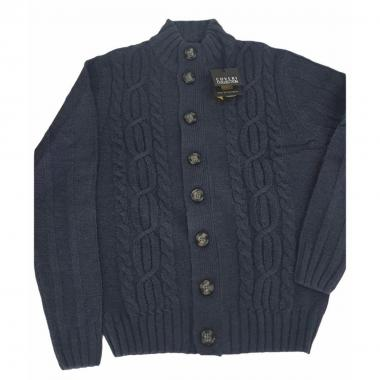 Cardigan uomo bottone coveri kilo