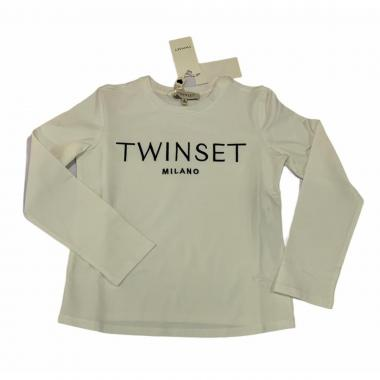 T-shirt ml ragazza twinset gj2316 5571