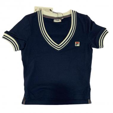 T-shirt  donna mm cropped fila 688541
