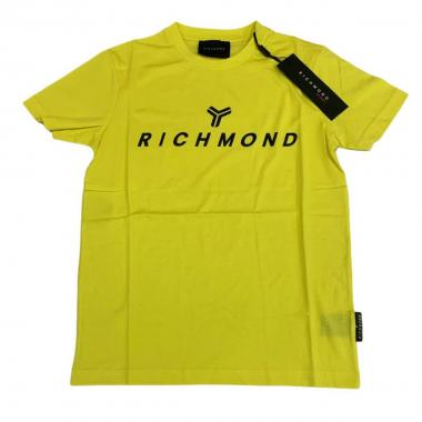 T-shirt mm uomo richmond 21004 zhotasy